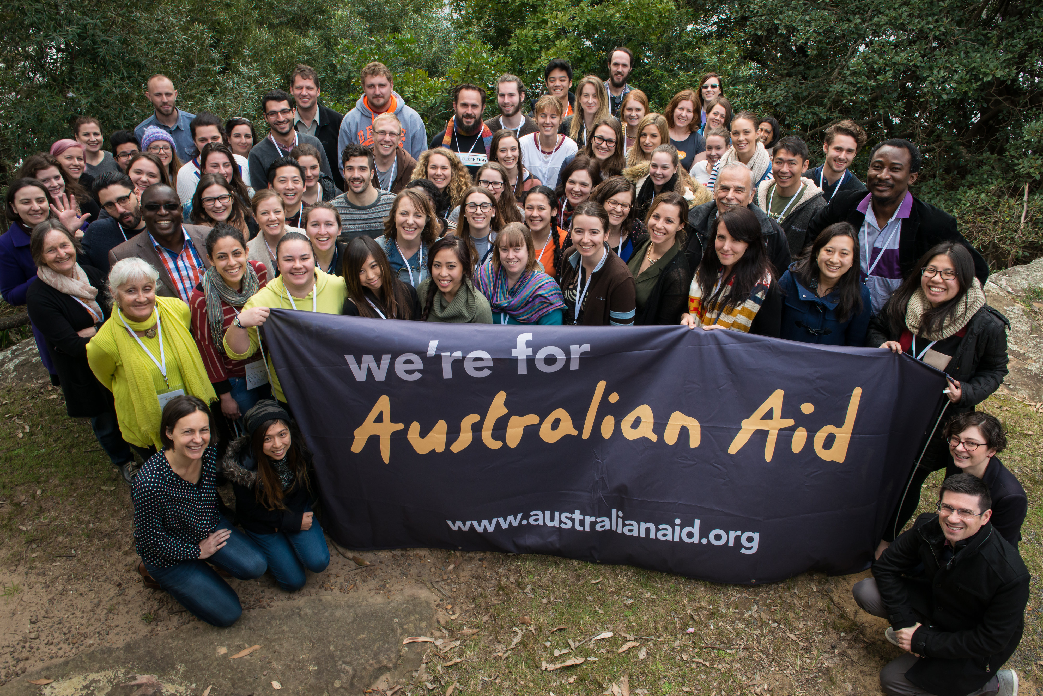 Group Campaign Australian Aid