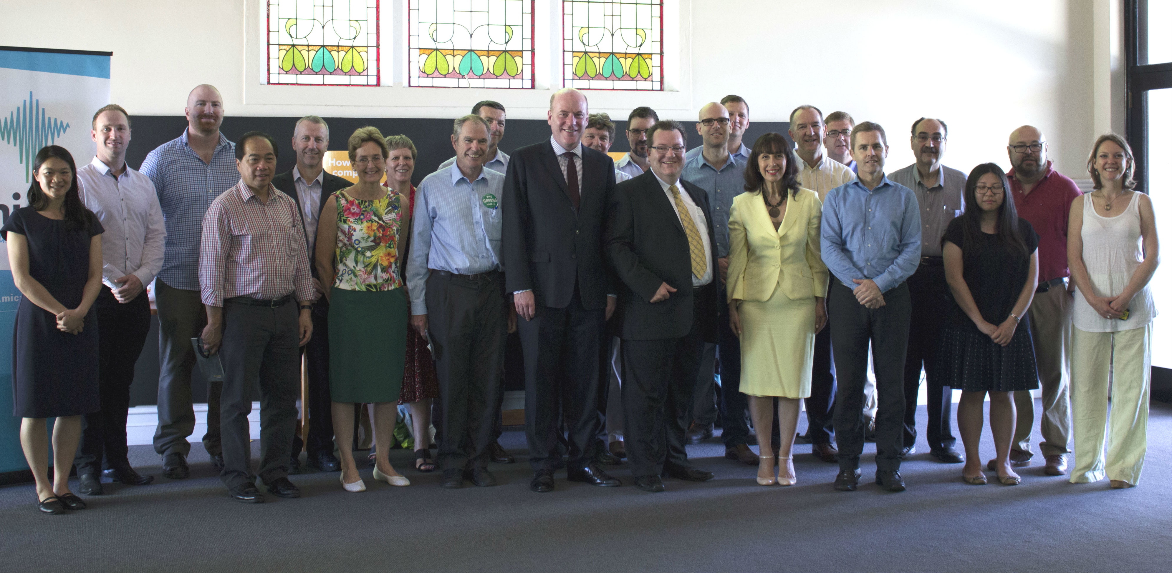 North Sydney Church leaders and Electorate Candidates gathering for Australian Aid