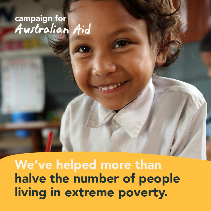 Australia Aid - MDG #1 - End Extreme Poverty