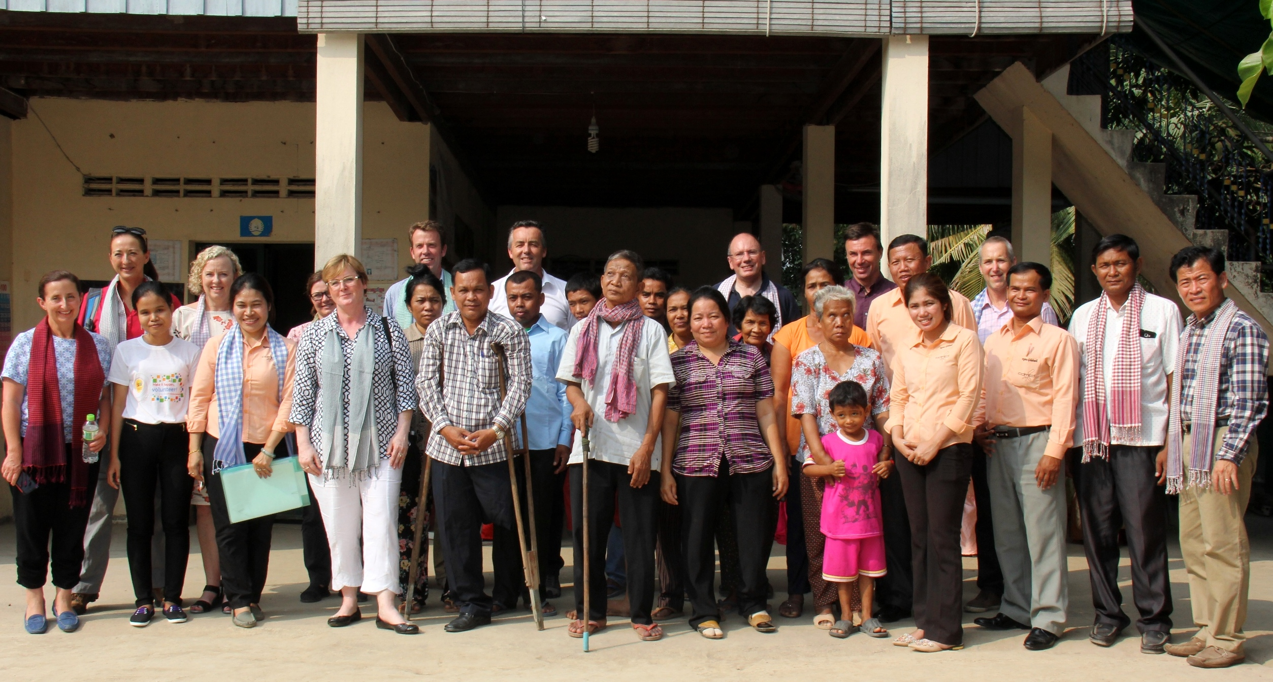 A delegation of Australian politicians visit Cambodia to learn the value of Australian Aid in the country.